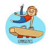 Letní olympijské sporty. Gymnastika