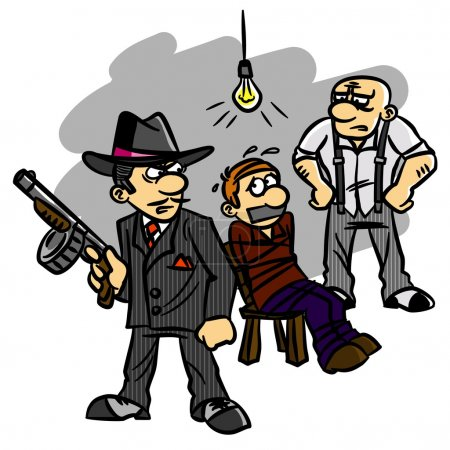 Бандиты Вымогательства Мафии В Заложники Похищение