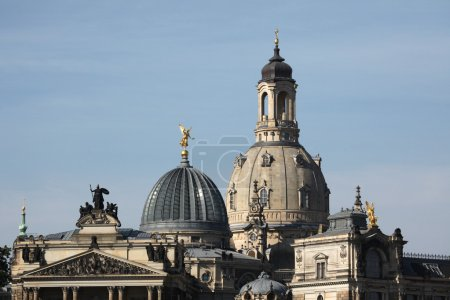 Frauenkirche and the Academy of Fine Arts
