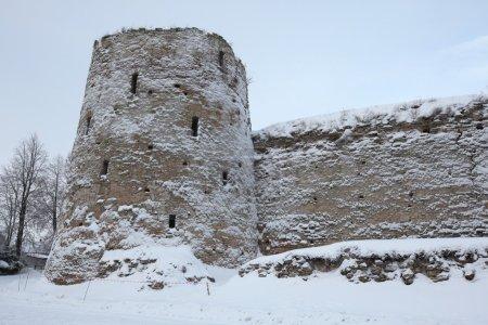 Izborsk Fortress near Pskov, Russia