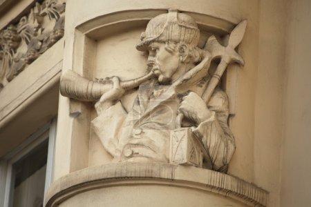 Art Nouveau building decoration