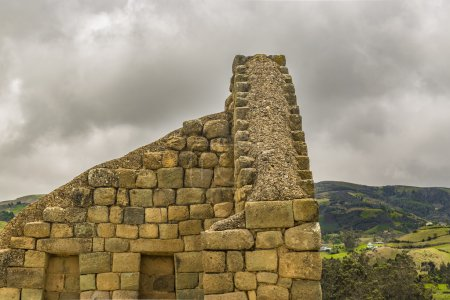 Ingapirca Inca Ruins in Azuay Ecuador