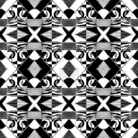 Zentangle Geometric Pattern
