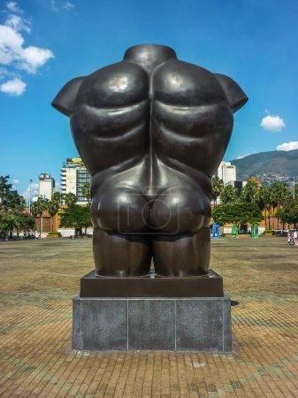 Medellin Colombia Botero Sculpture