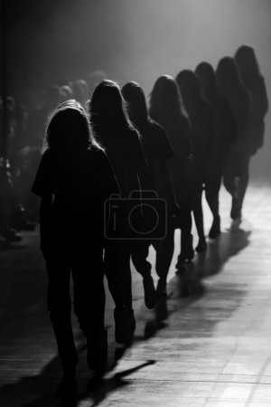 Photo for Fashion event in black and white - Royalty Free Image