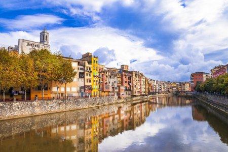 Girona town . Spain