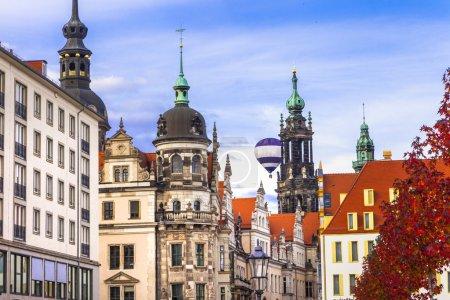 beautiful baroque Dresden , Germany