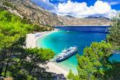 beautiful Greek islands - Karpathos, Apella beach