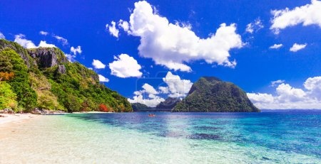 Beauty in nature - impressive tropical islands, Philippines, Palawan.