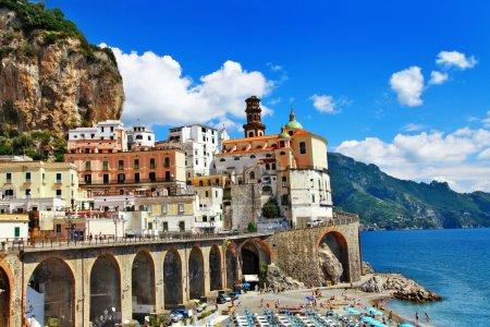 Italian holidays - pictorial Amalfi coast, Atrani village