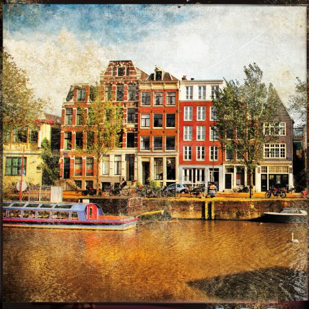 Canals of Amsterdam - vintage films