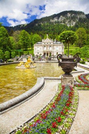 Linderhof palace - beautiful Bavarian castle