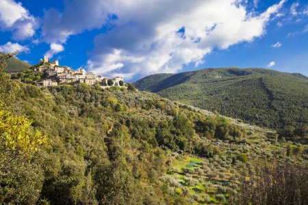 Roccantica - typical hil top village in Italy. Rieti region