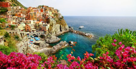 Manarola- beautiful village in Cinque terre, Liguria, Italy