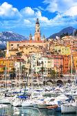 """Постер, картина, фотообои """"Мантона - красивые прибрежные города в юге Франции"""""""