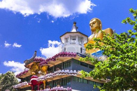 temple de houx à Dambula, attraction touristique, Sri lanka