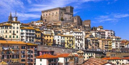 Soriano nel cimino - authentic medieval town in Lazio, Italy