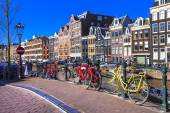charming Amsterdam. canals and bikes