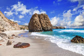 Beautiful scenic beaches of Greek islands