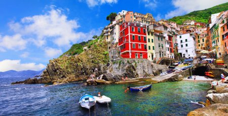 popular destination for summer vacations in Italy - Cinque terre