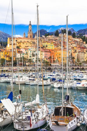 Menton - luxury vacation in south of France
