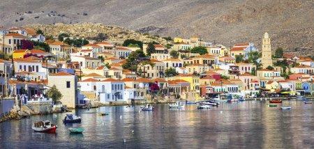 Chalki island, Geece, Dodecanese
