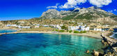 beautiful beaches of Greek islands - Lefkos in Karpathos (Dodekanese)