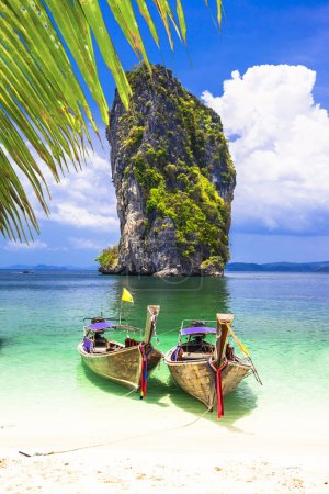 Photo for Islands hopping in Thailand, Krabi province - Royalty Free Image