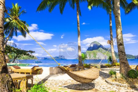 relaxing holidays in tropical paradise. Philippines