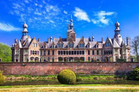 fairytale castles of Belgium series- Ooidonk, East Flanders