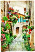 beautiful floral streets of Spello