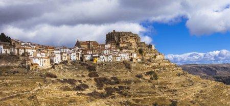 beautiful village Ares del Maestre in Castellon, Spain