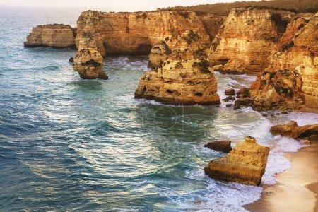 golden rocks of Algarve