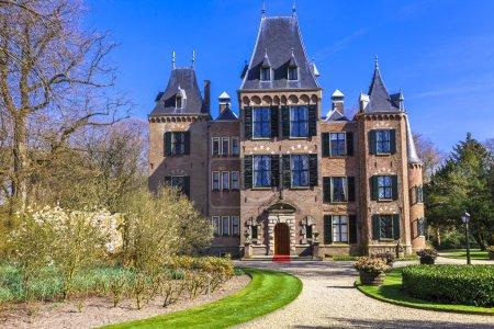 Photo pour Beau château de Keukenhof à Lisse, Hollande - image libre de droit