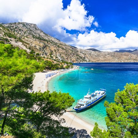 one of the ost beautiful beaches of Greece - Apella, Karpathos