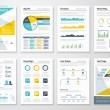 Business info graphics vector elements for corpora...
