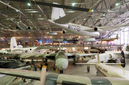 Vulcan, B.2, XH558 at Duxford, Imperial war museum, England, UK