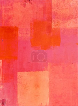 background painting decorative art abstract orange