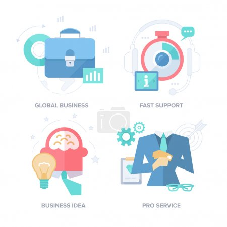 Strategies for Business Results. Abstract Features Concepts