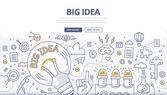 Big Idea Doodle Concept