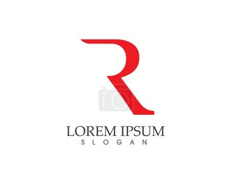 R lettre logo R