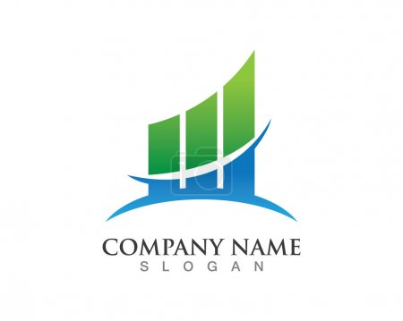 Finance logo succes for company