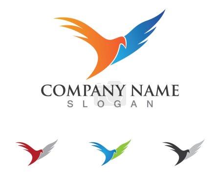 Illustration pour Logo ou modèle oiseau - image libre de droit
