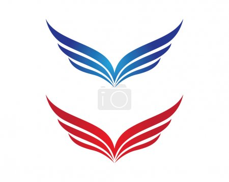 bird logo wings