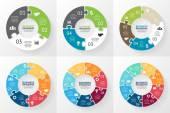 Circle infographic Diagram graph presentation