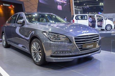 Hyundai Genesis sedan showed in