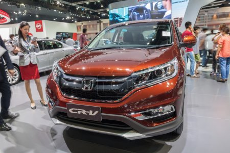 Honda CR-V on display