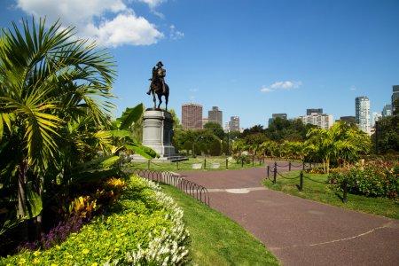George Washington Statue in Boston