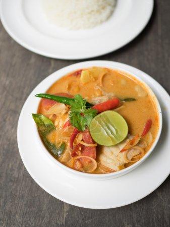 Thai Food  Tom Yum soup