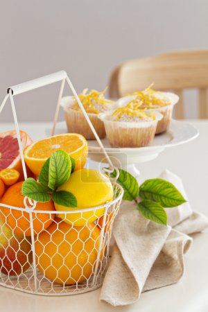 Baking with citrus fruits